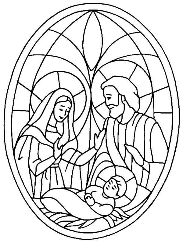 600x798 Nativity Scene Bible Christmas Story Coloring Pages Best Place