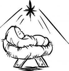 221x228 Baby Jesus Krippen Szene Kostenloses Stock Bild