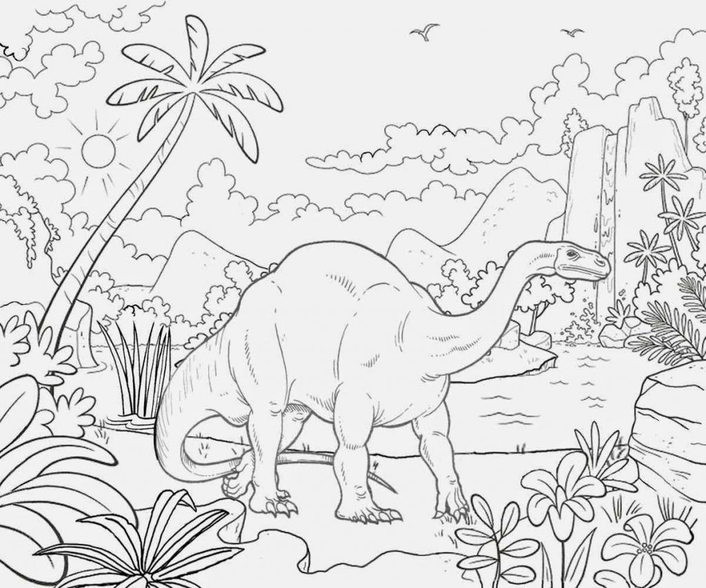 1024x853 Nature Drawing Color Kids Natural Sceneries Drawings