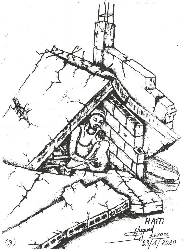 746x1024 Easy Earthquake Pencil Drawing Hand Drawn Sketch Six Natural