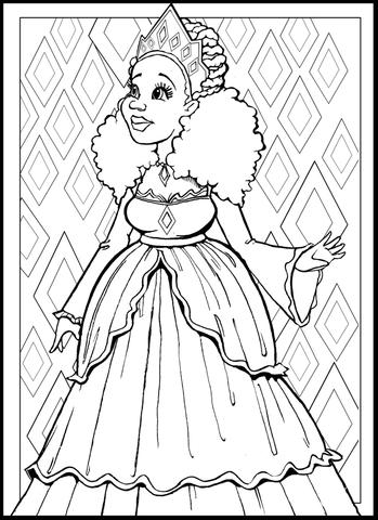 349x480 Color My Fro A Natural Hair Coloring Book For Big Hair Lovers