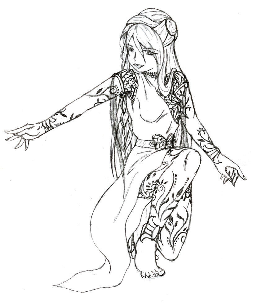 816x984 Image result for mother nature drawings tattoo Pinterest