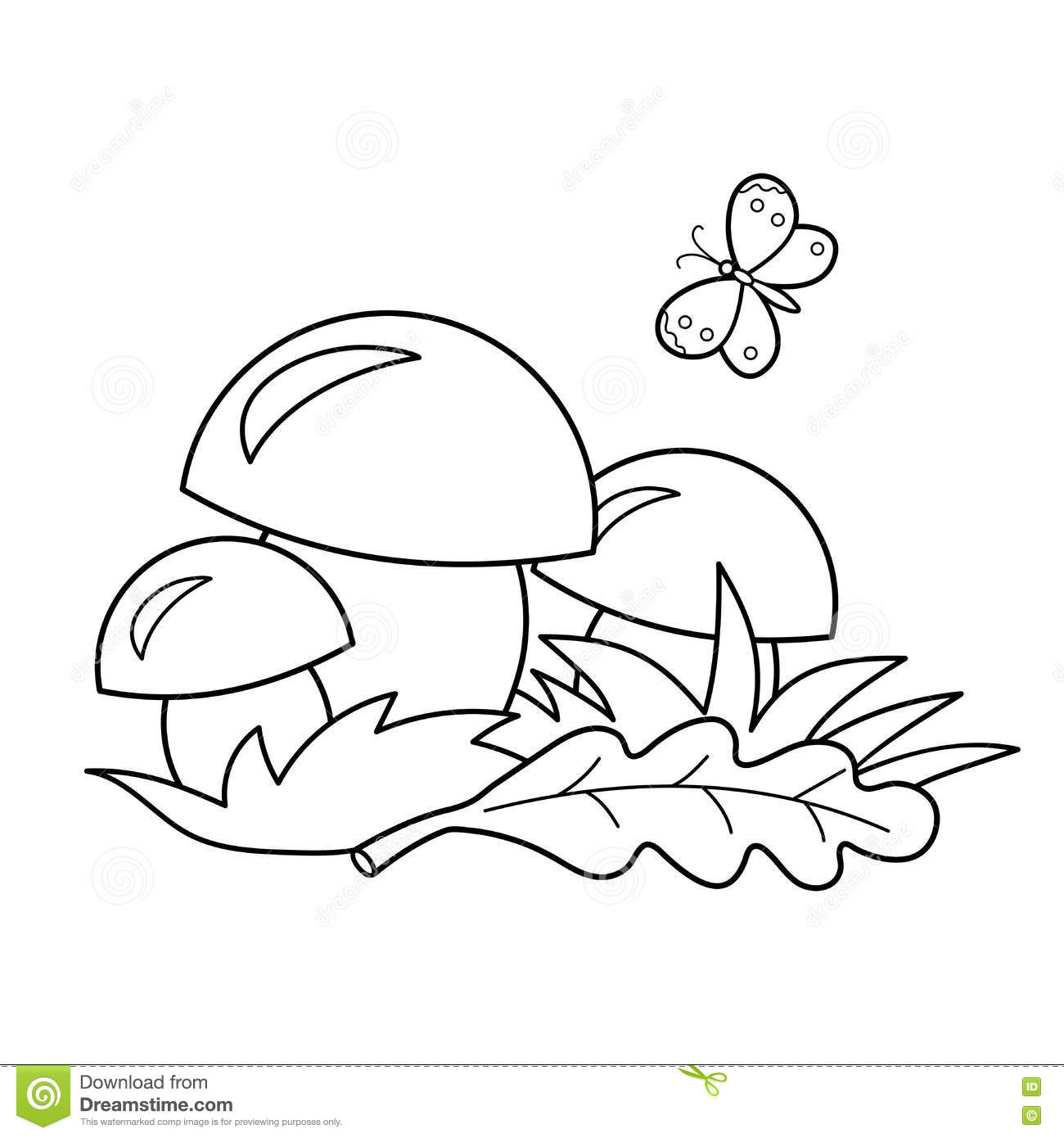 1300x1390 Outline Drawing Of Nature Coloring Page Outline Of Cartoon