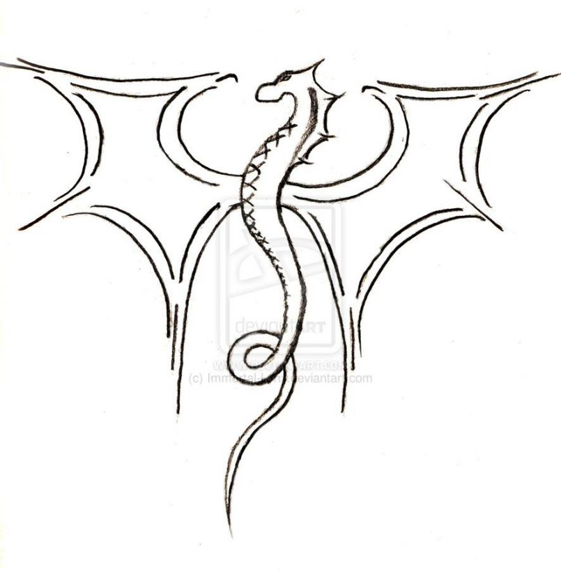 805x820 Drawing Easy Drawings And Sketches Dragon With Easy Drawings By