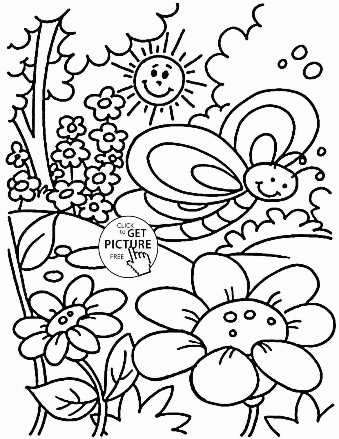 1169x1513 The Images Collection Of Of Sketch Easy Spring Season Drawing