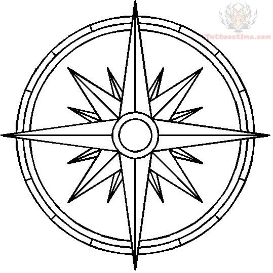 539x540 Nautical Compass Tattoo Pics Photos