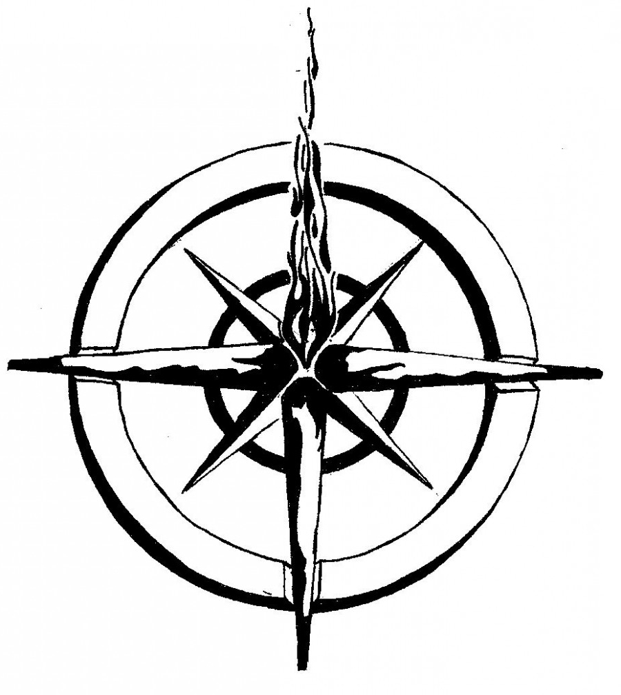 900x1008 Nautical Compass Tattoo Designs Nautical Compass Star Tattoo