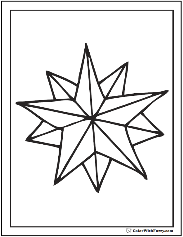 590x762 Nautical Star Print Off Pages Nautical Page Borders For Microsoft