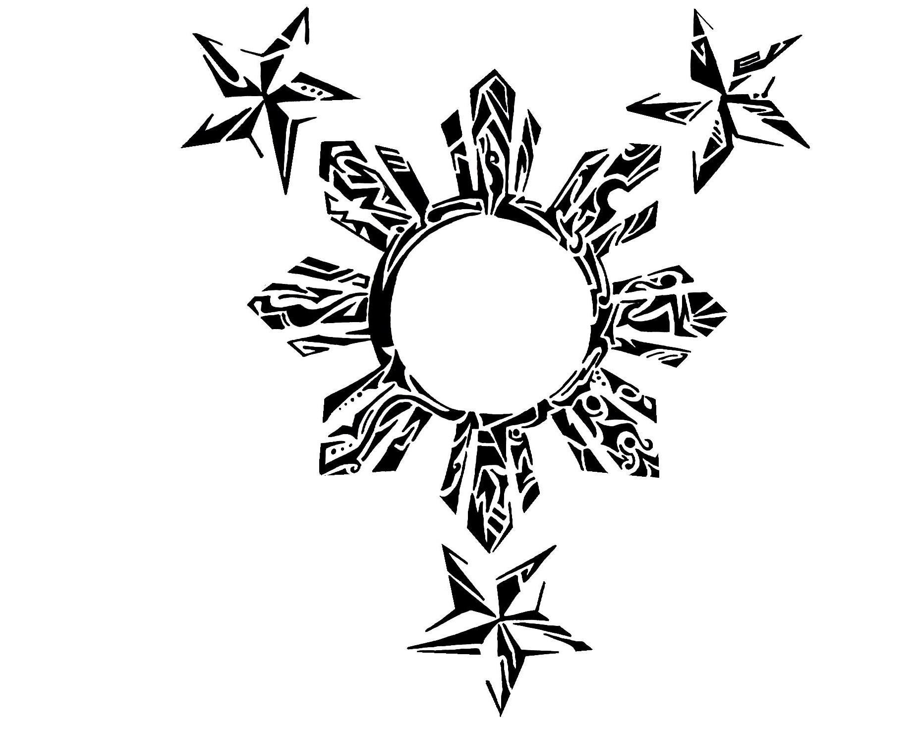 1846x1471 Tribal Nautical Star Tattoo Designs Tribal And Skull Nautical Star