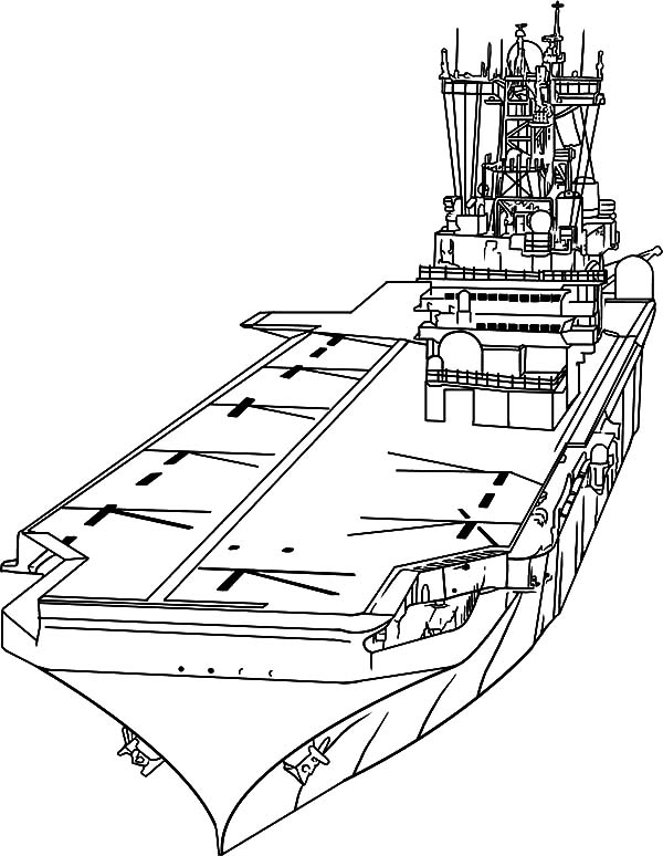 Navy ship coloring pages ~ Naval Ship Drawing at GetDrawings.com | Free for personal ...