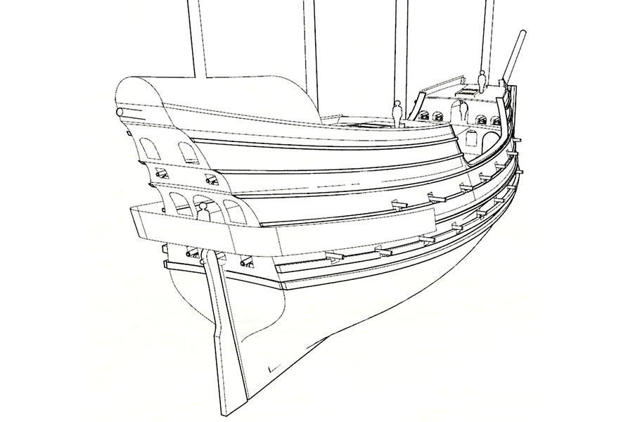 900x600 Sailing Ship Reconstruction Domanoffs Workshop