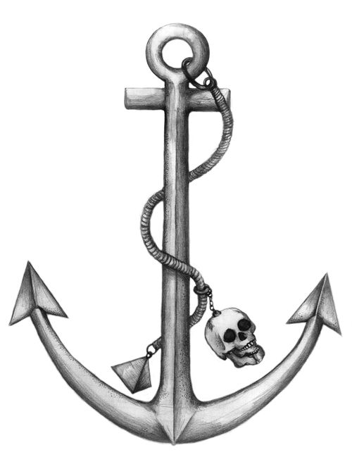 500x676 Drawing Drawing Of Anchor Chain Also Drawing Anchor Tumblr