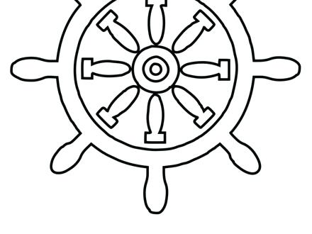 Us Navy Anchor Logo Sketch Coloring Page