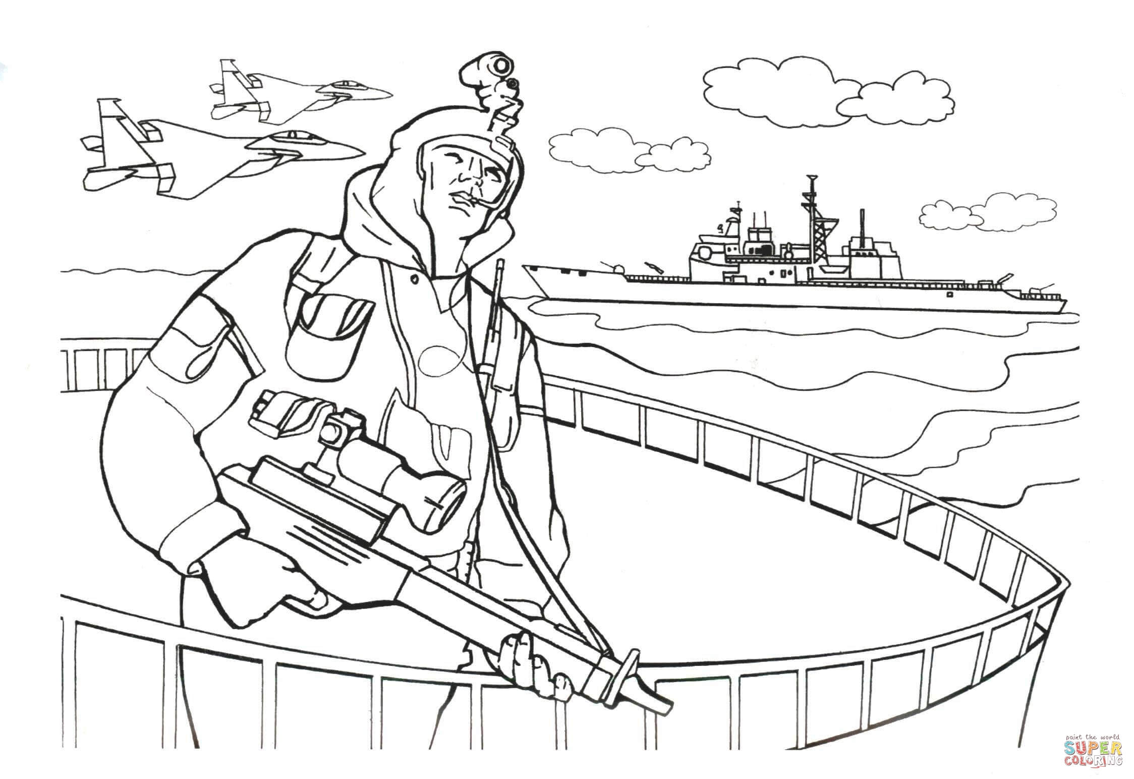 2248x1544 Navy Seals Soldier Coloring Page Free Printable Coloring Pages