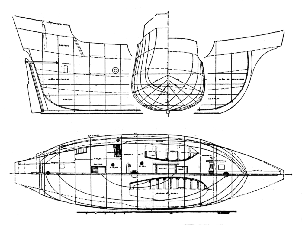 1000x744 Ancient And Modern Ships, Part I. Wooden Sailing Ships, By Sir