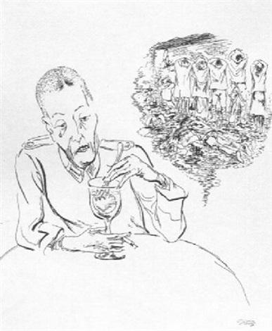 387x470 Birth Of A Nazi By George Grosz On Artnet