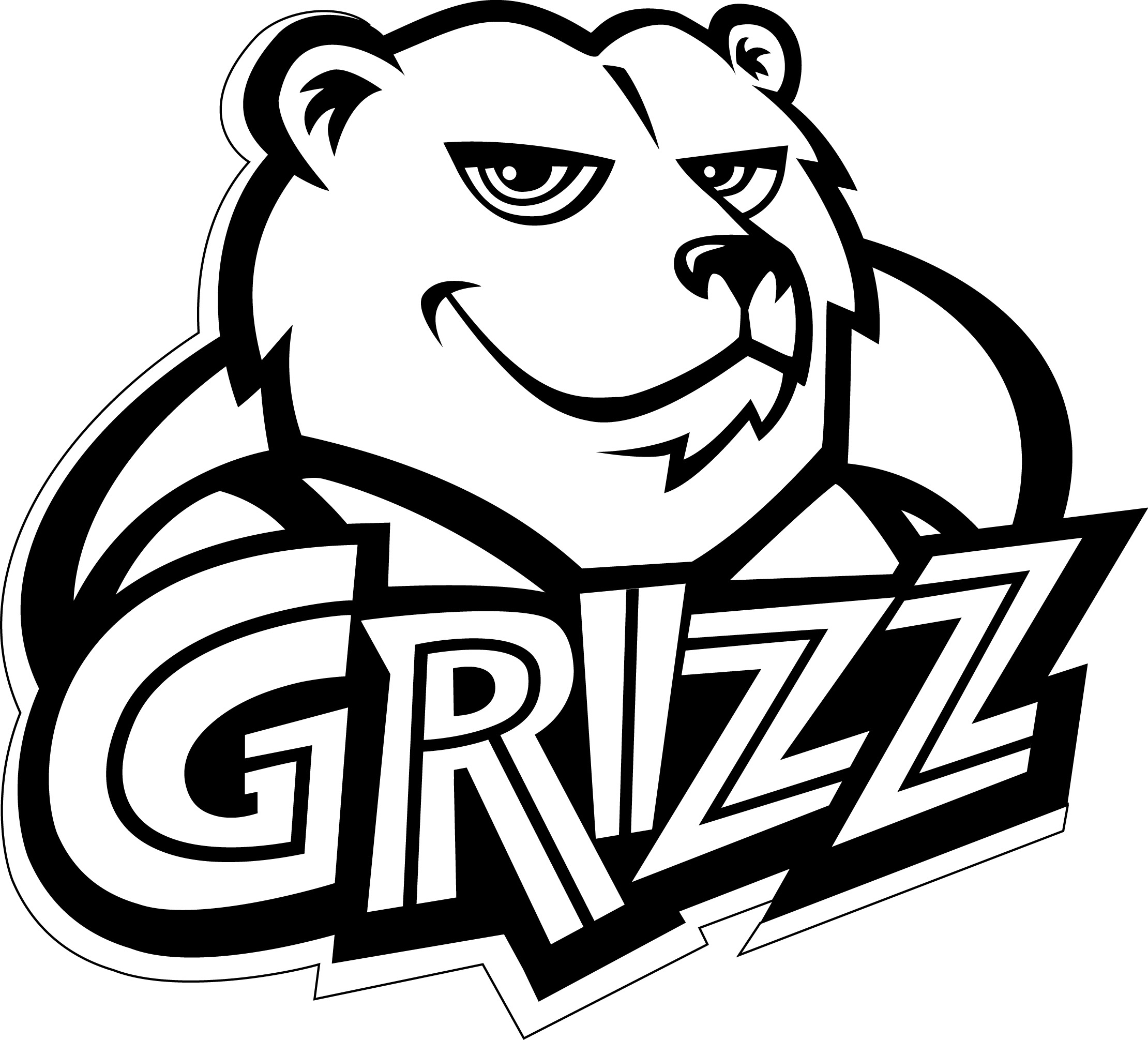 Printable Coloring Pages 2220x2011 Grizz Memphis Grizzlies
