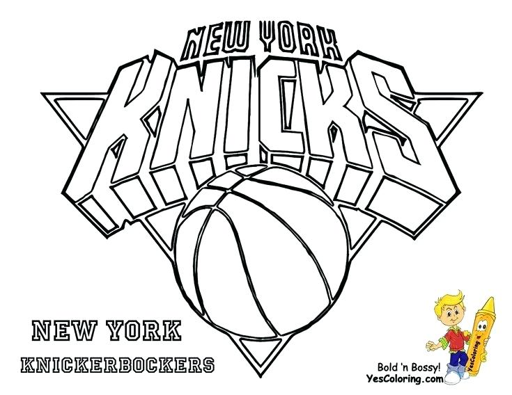 735x568 Nba Logo Coloring Pages 394336