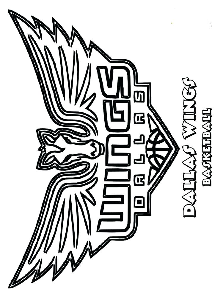 750x1000 Nba Logos Coloring Pages Team Coloring Pages For Boys 6 Nba Logo