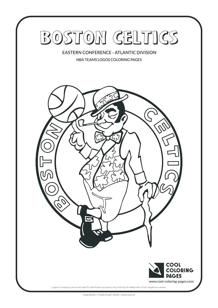 736x1040 Nba Logos Coloring Pages Teams Coloring Pages Logo Coloring Pages
