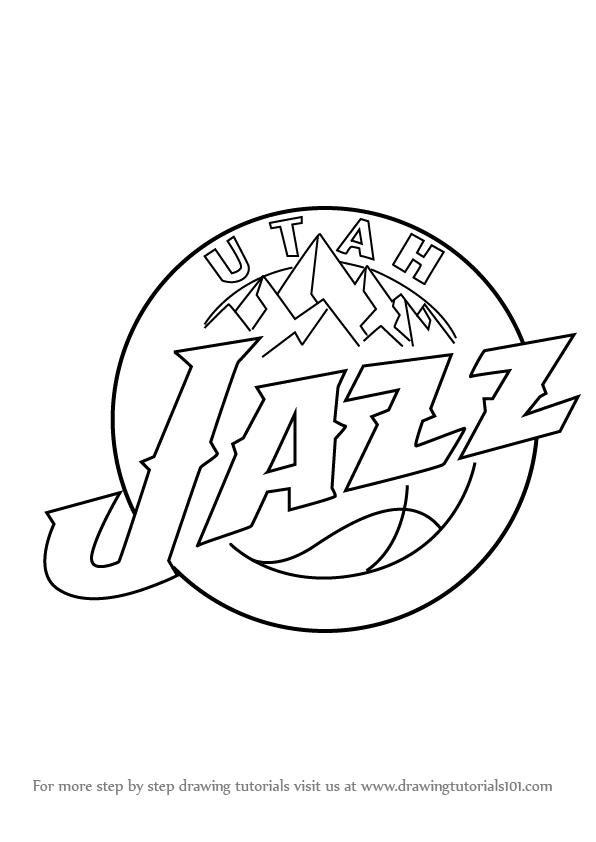 596x842 Utah Jazz Coloring Pages