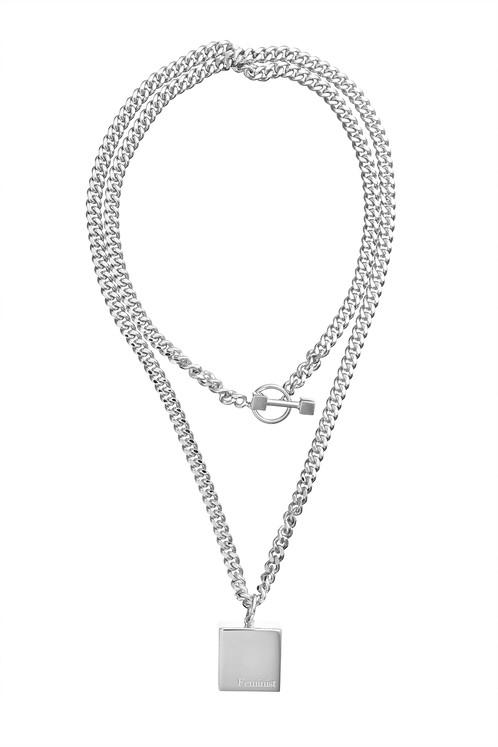 498x747 Feminist Necklace Scandi Statement Jewellery Uk Phine Ltd