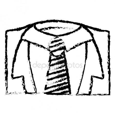 450x450 Necktie Male Fashion Stock Vector Djv
