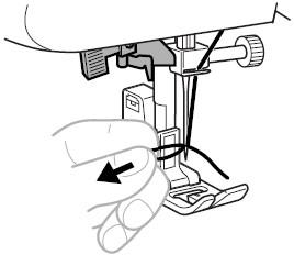 268x232 How Do I Use The Automatic Needle Threader