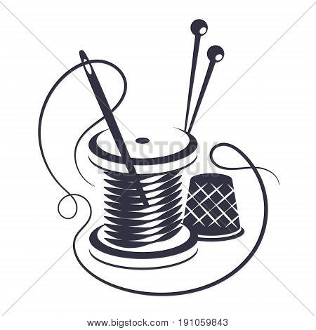 450x470 Symbol Sewing Thread Needle Vector Amp Photo Bigstock