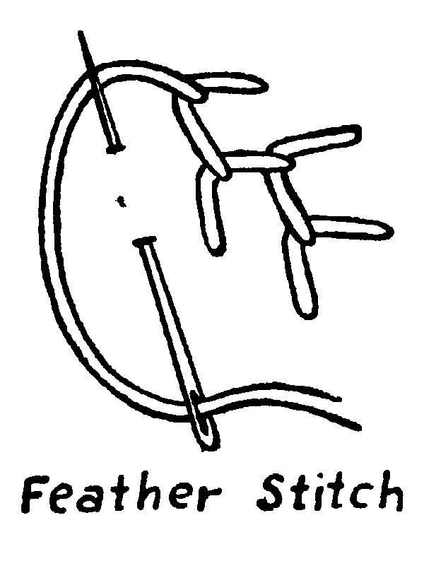 600x794 Feather Stitch