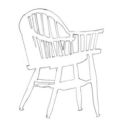 250x251 Negative Space Drawing Of The Chair