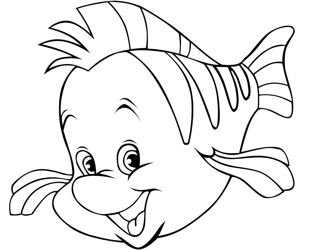 1024x819 Finding Nemo Coloring Pages With Martin For Kids Printable Page