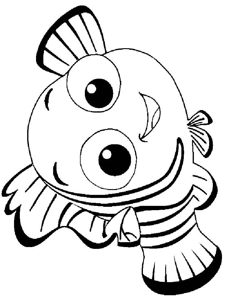 750x1000 Finding Nemo Coloring Pages. Download And Print Finding Nemo