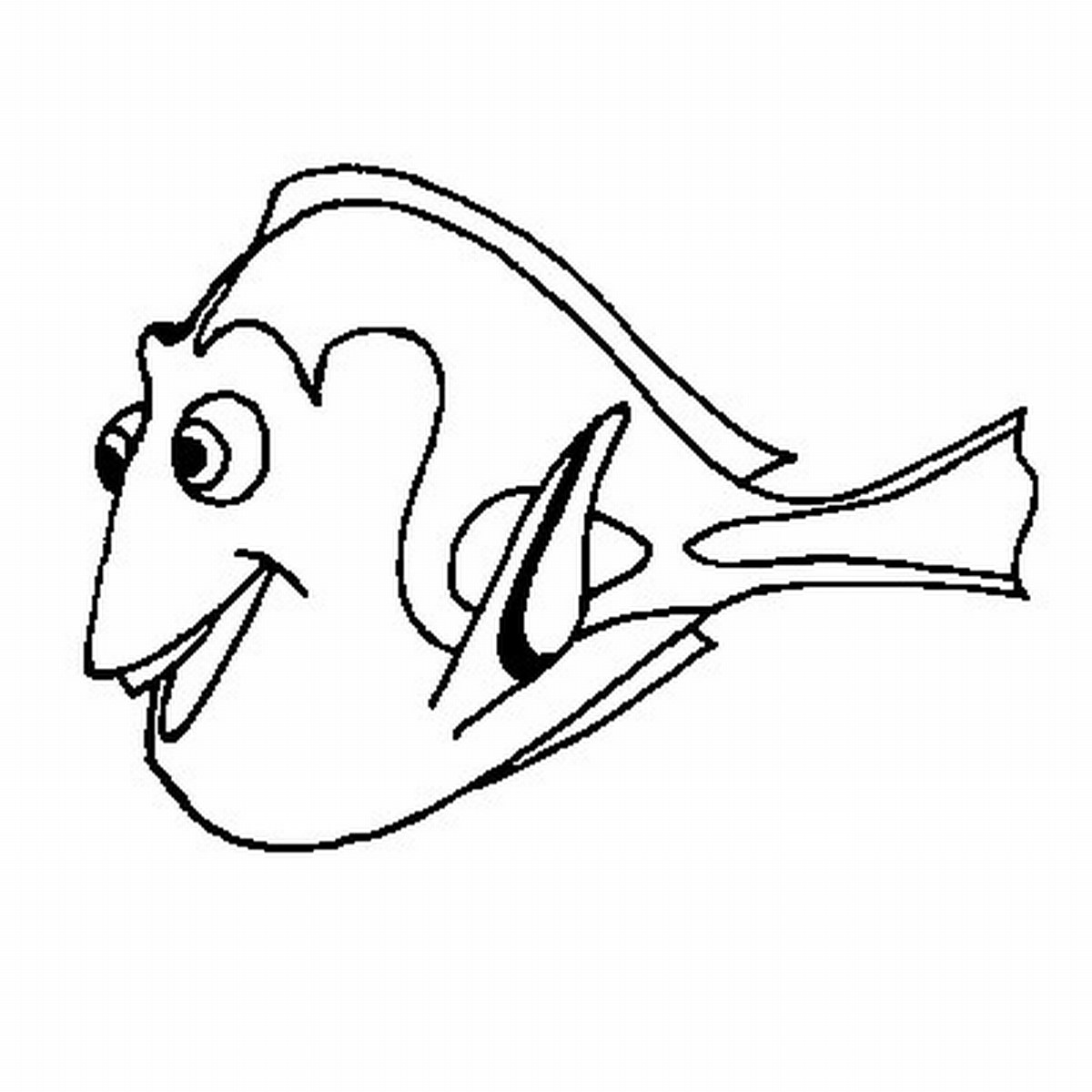 1200x1200 Free Printable Nemo Coloring Pages For Kids