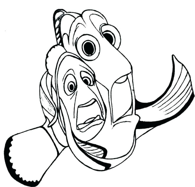 660x633 Best Of Finding Nemo Coloring Pages Pictures Finding Coloring