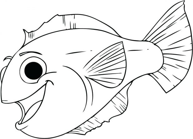 618x447 Nemo Pictures To Print Free And Colour Coloring Pages Nemo