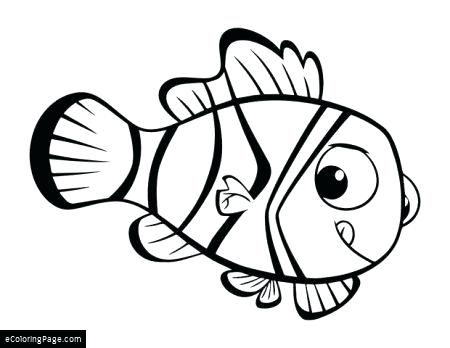 450x348 Best Of Nemo Coloring Pages Images Finding Dory Coloring Page