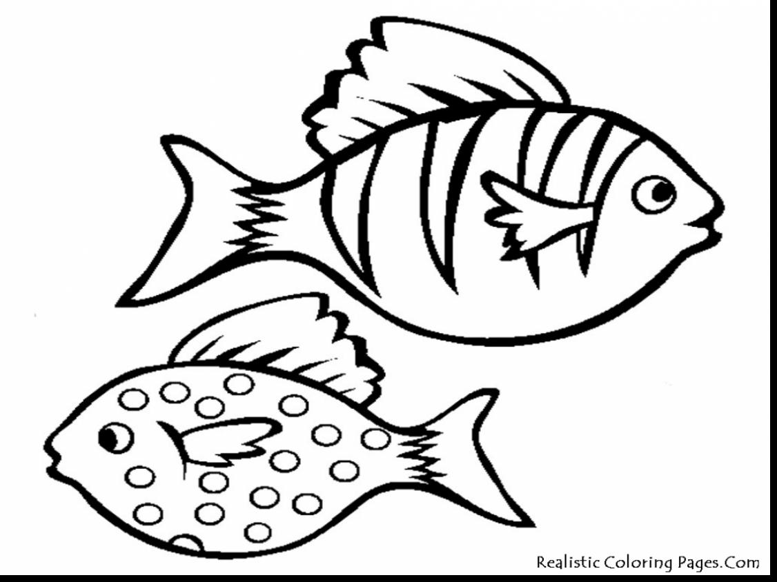 1126x844 Magnificent Nemo Fish Coloring Page With Fish Coloring Page