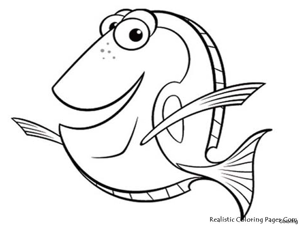 1024x768 Coloring Pages For Kids Nemo Printable 25f Free To Print Online