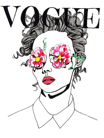 400x533 Vogue Japan Illustration Vogue Japan