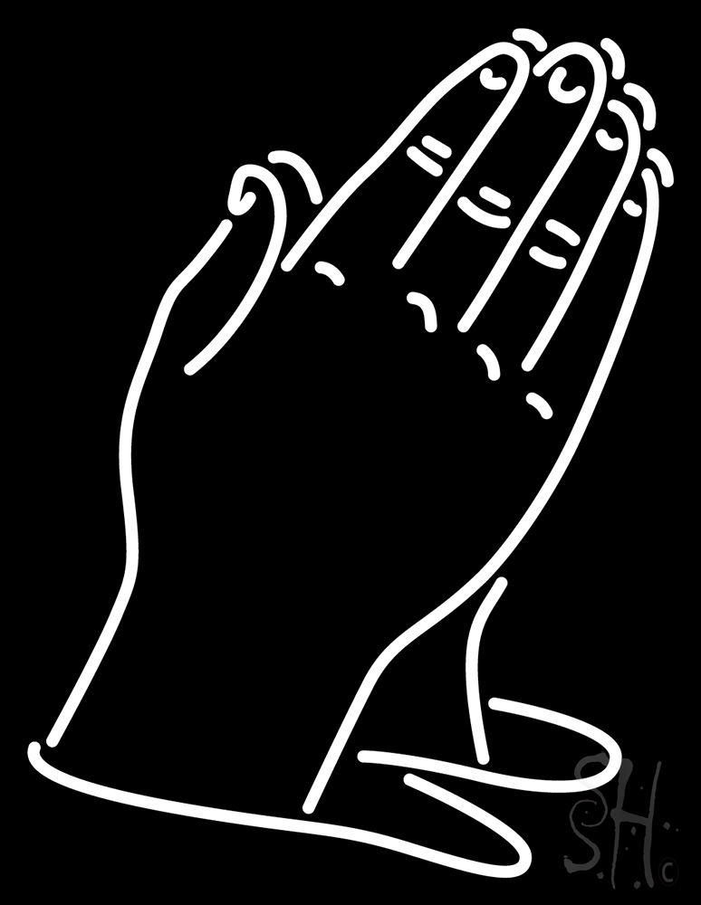 774x1000 Child Prayer Hands Neon Sign Praying Hands Neon Sign Neon Light