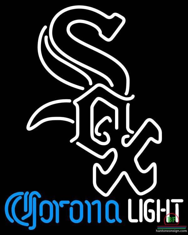 600x750 Corona Light Chicago White Sox Neon Sign Mlb Teams Neon Light
