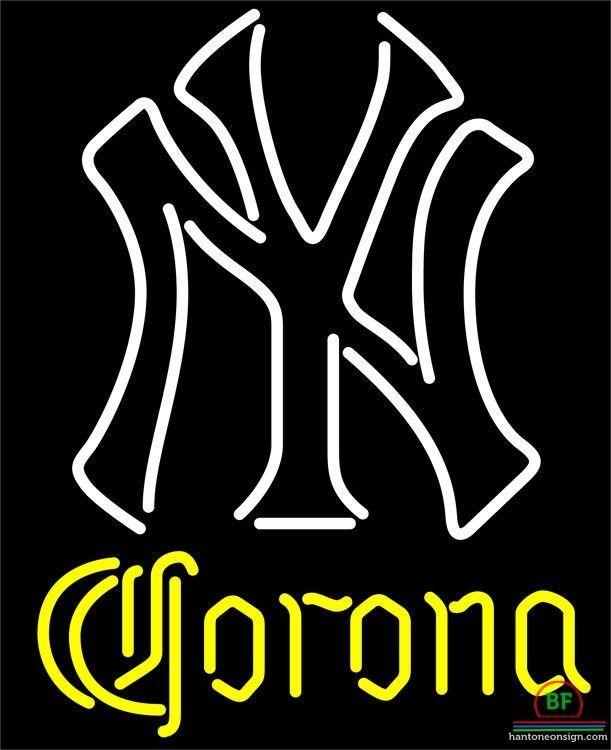 611x750 Corona New York Yankees Neon Sign Mlb Teams Neon Light Mlb Teams