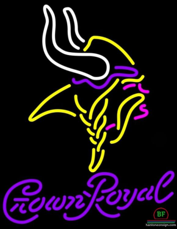580x750 Crown Royal Minnesota Vikings Neon Sign Nfl Teams Neon Light