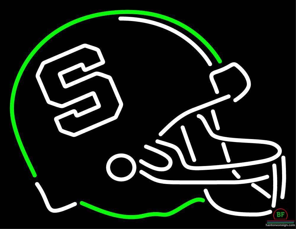 1000x774 Michigan State Spartans Helmet Neon Sign Ncaa Teams Neon Light