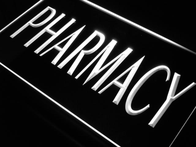 640x480 J719 B Pharmacy Medical Shop Rx Neon Light Sign Ebay