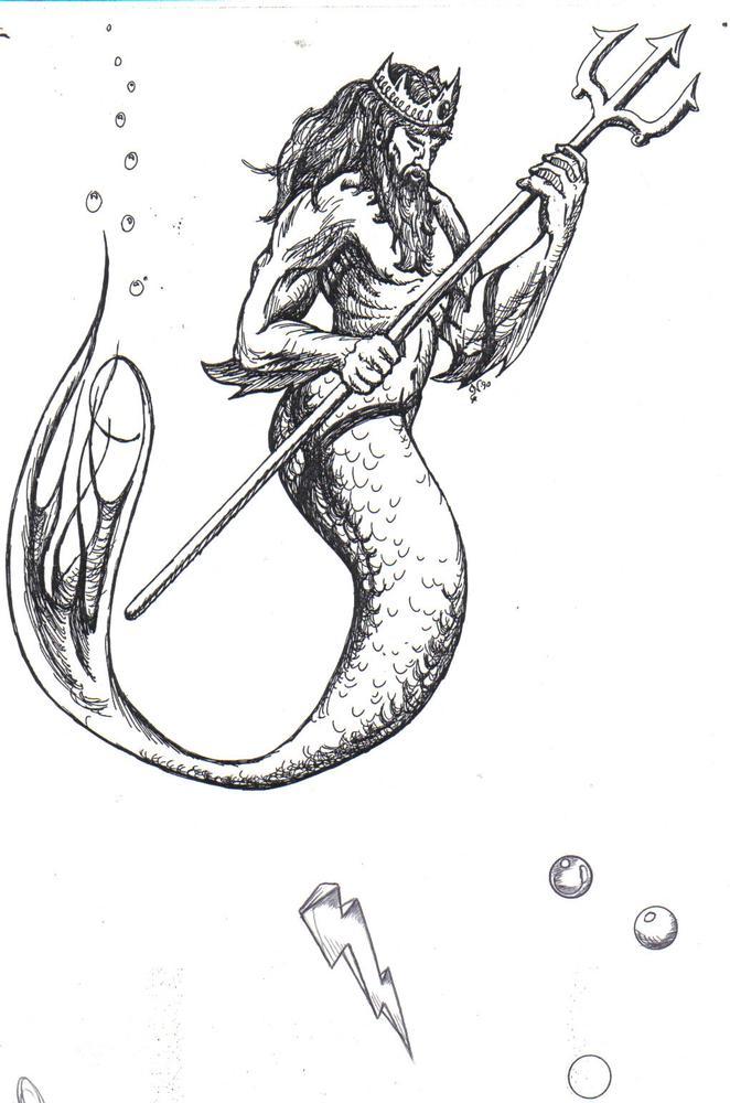 Neptune Drawing At GetDrawings