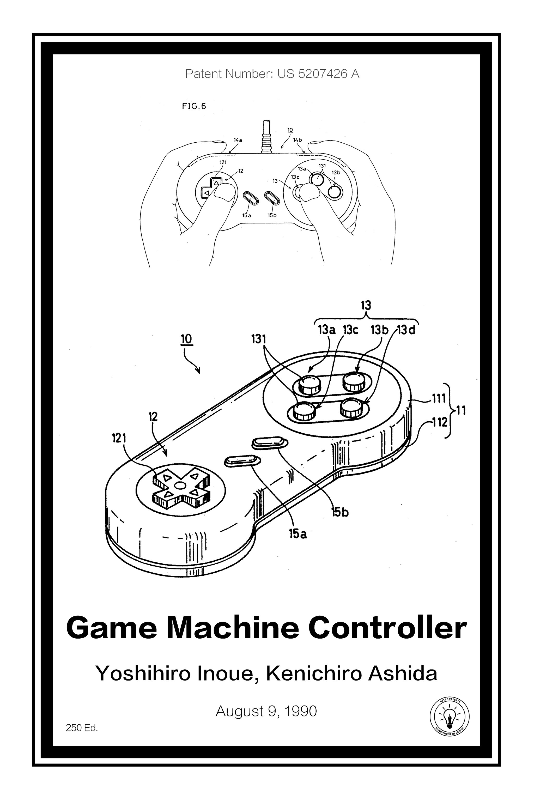 Nes Controller Drawing At Free For Personal Use Super Nintendo Wiring Diagram 2048x3072 Retro Patents