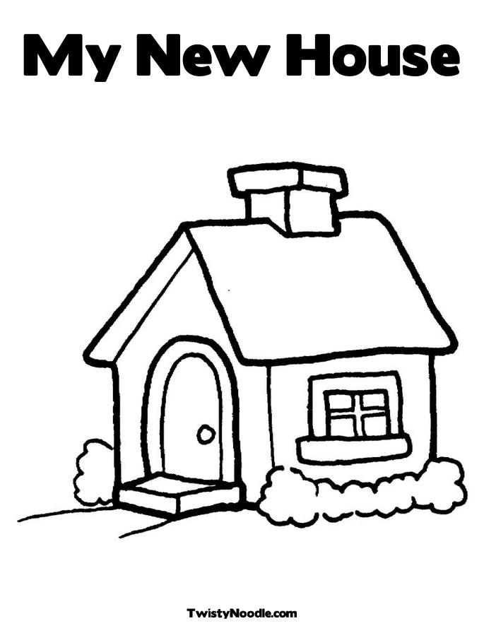 New Home Drawing at GetDrawings.com | Free for personal use New Home ...