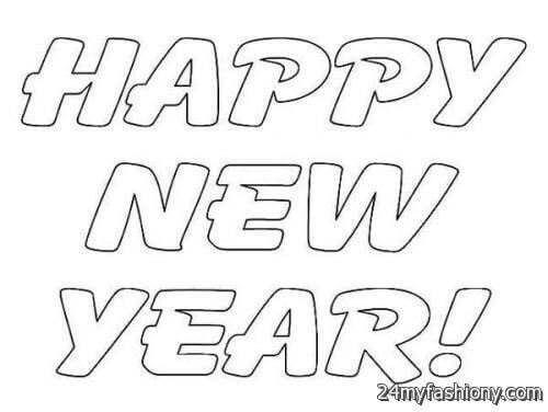 500x376 Happy New Year 2018 Coloring Pages For Kids